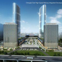 Chengdu East High Speed Railway Integrated Development